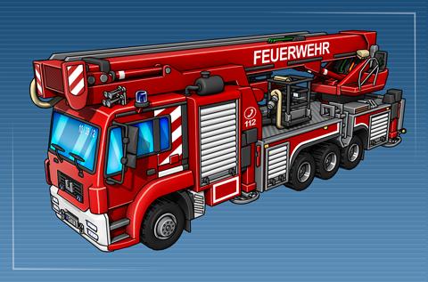 Teleskopmastfahrzeug (TMF 53)