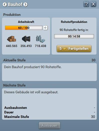 Bauhof neu