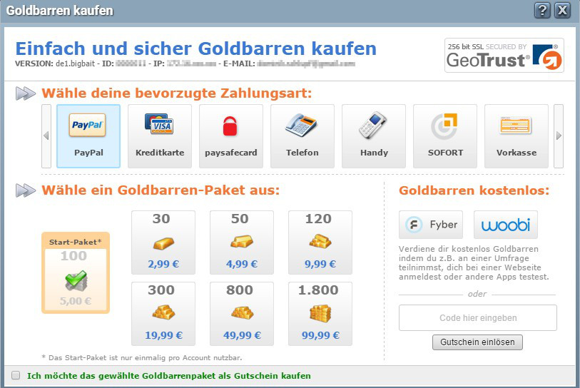 Goldbarren-kaufen