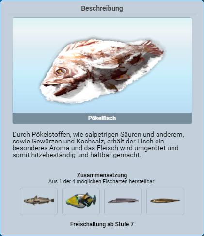 Pökelfisch