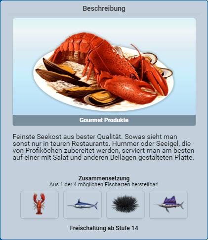 Gourmet Produkte