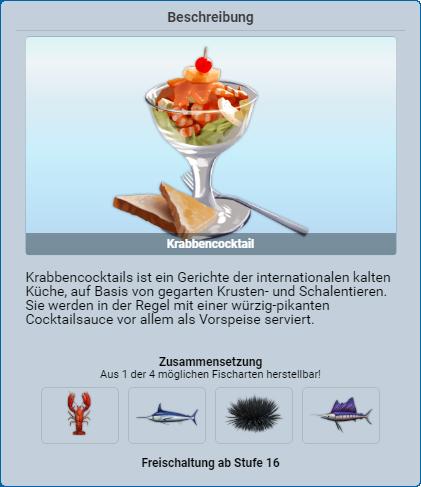 Krabbencocktail
