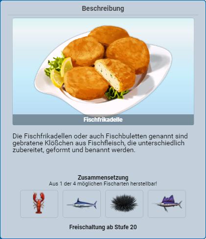 Fischfrikadelle