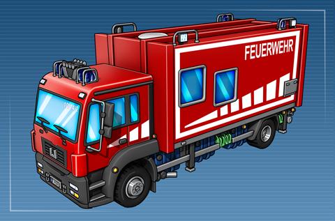 Gerätewagen Fernmeldeausstattung (Neu)