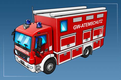 Gerätewagen Atemschutz