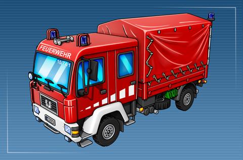 Gerätewagen Dekontamination Personen