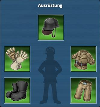 Set einer ostdeutschen Feuerwehr