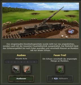 Bombenwetter Munition