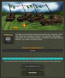 Bombenwetter Treibladungen