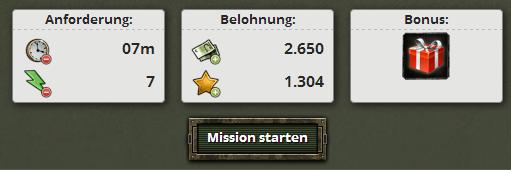 Mission Patronengewinn